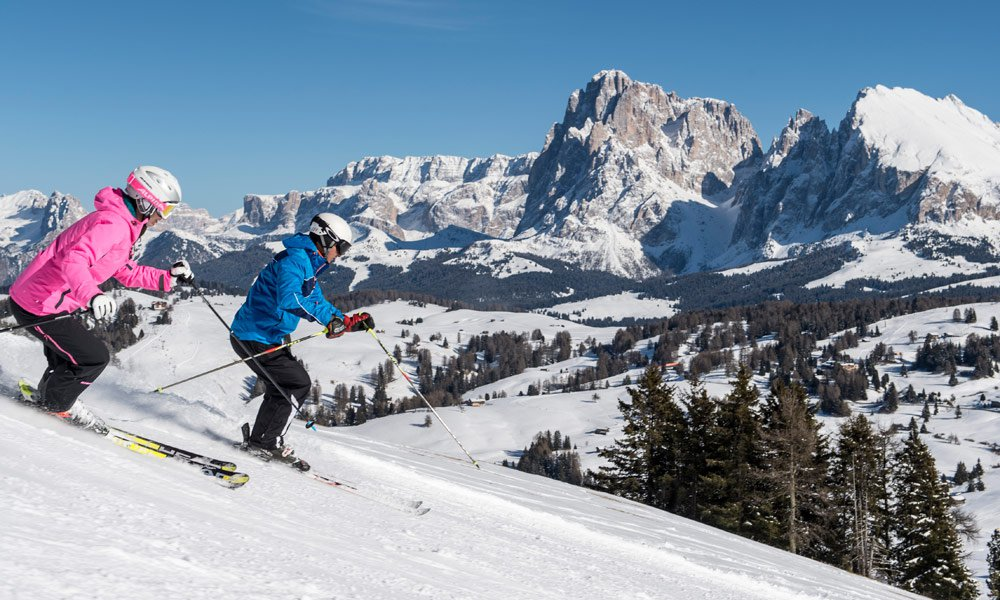 Spend your skiing holiday in South Tyrol on the Seiser Alm